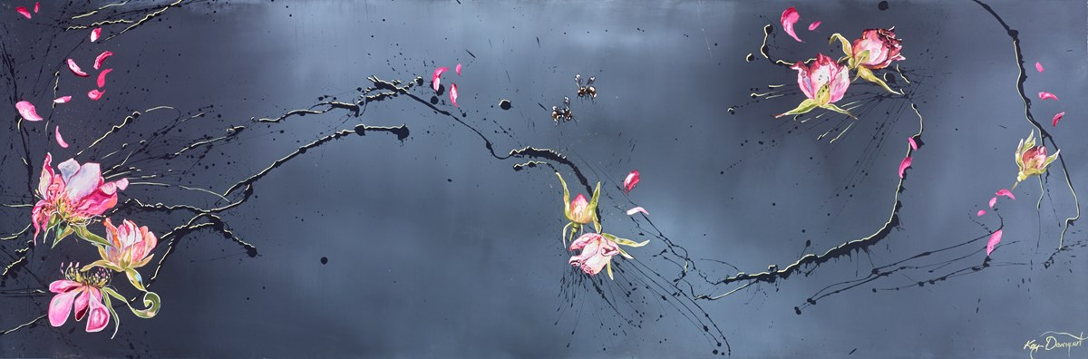 Petal Confetti by kay davenport -  sized 72x24 inches. Available from Whitewall Galleries